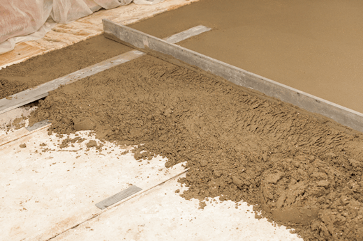 Diy Screed Bathroom Floor : Screeding a floor diy step by underfloor heating