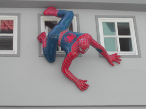 is electric underfloor heating safe - spider-man doesn't care