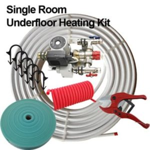 dismy water fed underfloor heating kit