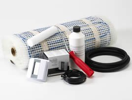 The electric underfloor heating kit from Ambi-Heat