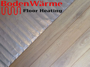 radiant heating for wood floors
