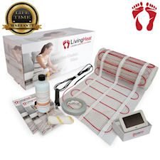 electric underfloor heating mat kit from Living Heat