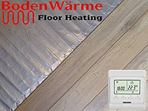 Underfloor Heating For Laminate Floors A Review Underfloor - What do i put under laminate flooring