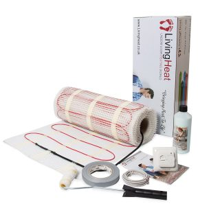 electric underfloor heating kit from living heat