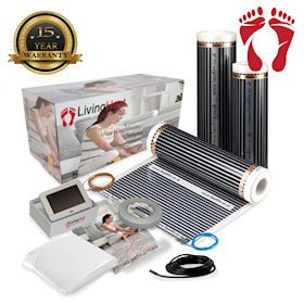 underfloor heating kit suitable for laminate flooring